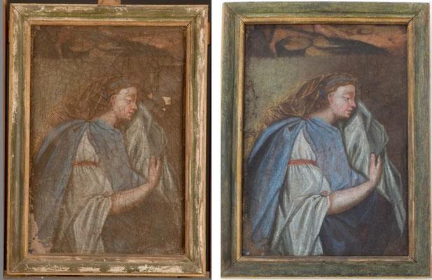 Photos avant et après traitement