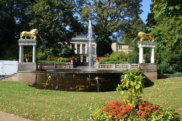 Garten von Schloss Glienicke