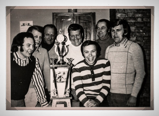 Gewinner des großen Wanderpokals 1974 in Steinhöring