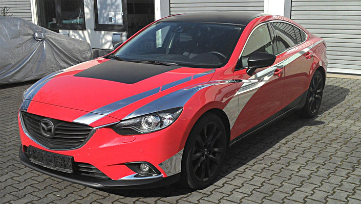 Mazda Teilfolierung Chrome - MT Concepts Eppelheim