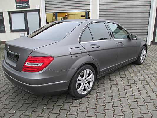 Mercedes Folierung Anthrazit matt metallic - MT Concepts Eppelheim