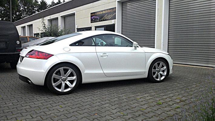 Audi TT Perlweiss Folierung - MT Concepts Eppelheim