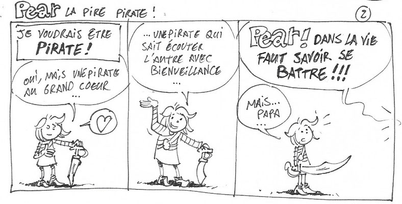 Pear la pire pirate 2 - Storyboard - Tournesol 423 à venir
