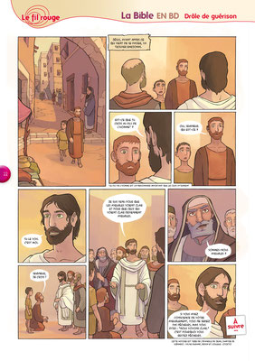 Bible-en-BD-Drôle-de-guérison 7 - Tournesol 400