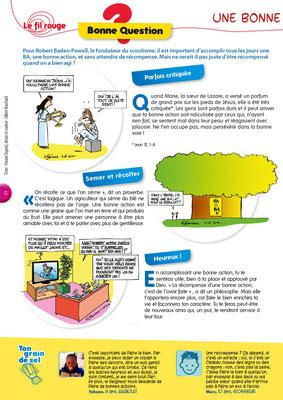 Bonne question 1 Une bonne action, toujours récompensée ?