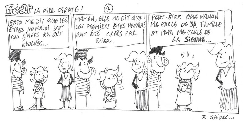 Pear la pire pirate 4 b (variante non retenue) - Storyboard -