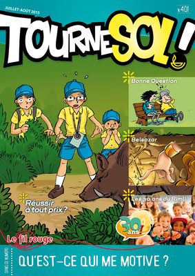 Tournesol 401 - Couverture