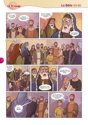 Bible-en-BD-Drôle-de-guérison 5 - Tournesol 400