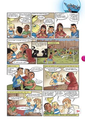 Mon amie Sam -  Les réfugiés (4) - Tournesol 399