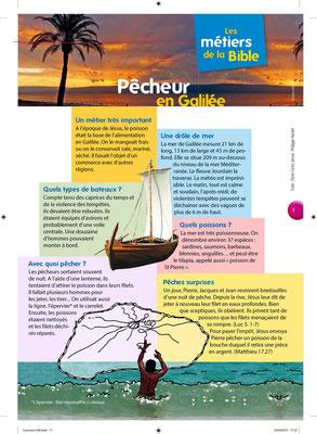 Les métiers de la Bible - Pêcheurs en Galilée - Tournesol 400