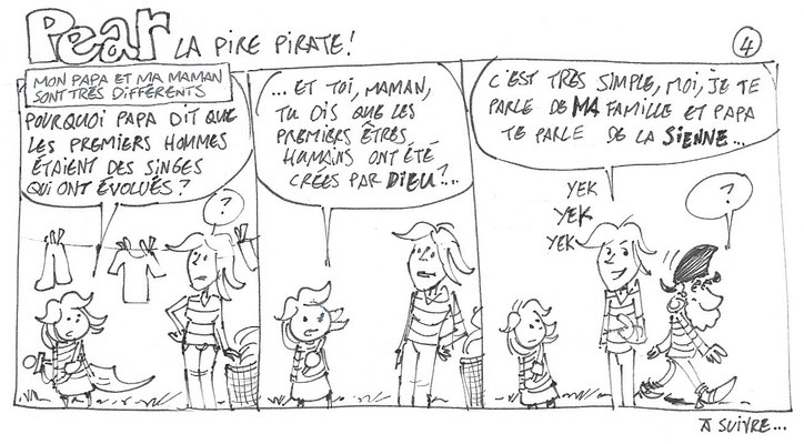 Pear la pire pirate 4 - Storyboard - Tournesol 423 à venir