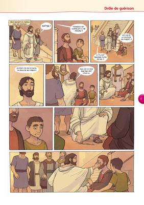 Bible-en-BD-Drôle-de-guérison 2 - Tournesol 400