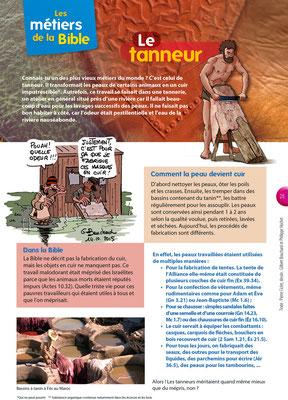Les métiers de la Bible - Le tanneur - Tournesol 404