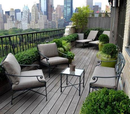 Terrasse en bois © DR