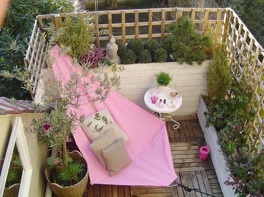 Aménagement d'un balcon © ec-co