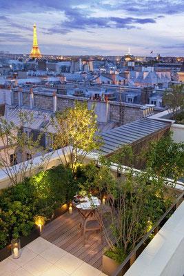 Terrasse jardin © DR