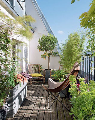 Aménagement terrasse en ville © DR