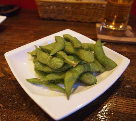 ダイニングバー・シロクマの枝豆