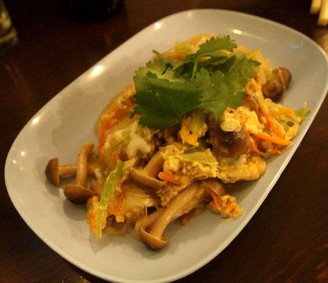 タイごはん屋ナムチム・卵と春雨の炒め物