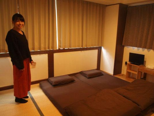 Beehive Hostel Osaka の客室