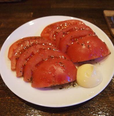 ダイニングバー・シロクマのトマトスライス