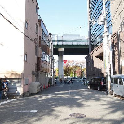 中央大通りから南側