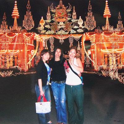 タイマッサージの勉強のためタイに滞在したころ