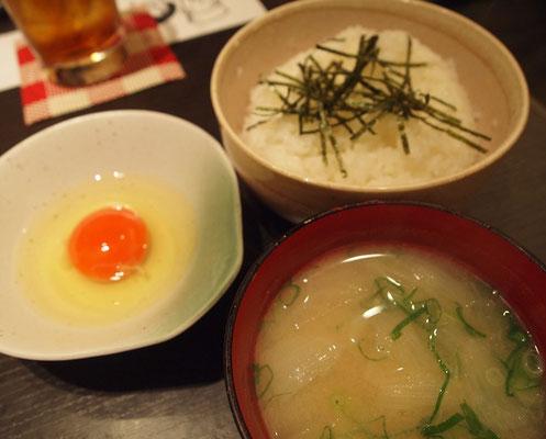 旬菜 和かつき・こだわりの卵かけご飯