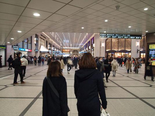 阪急百貨店前(地上1階)