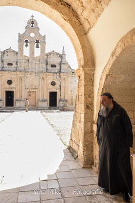 Eingang Kloster Moni Arkadi