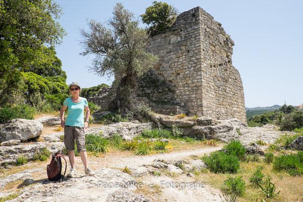 Antike Ruinen Eleftherna (Eleutherna)