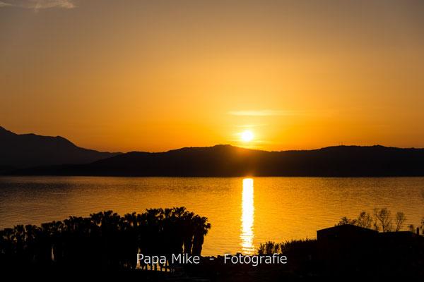 Sonnenuntergang in der Bucht von Rethimno