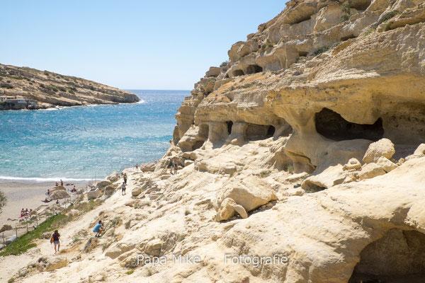 Höhlen von Matala