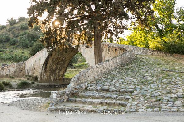 Türkische Brücke Moni Preveli