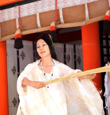 『天津神・国津神 大和合 葦舟神事』2013年6月16日 出雲 日御碕神社