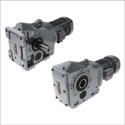 motor y reductor PGR Ortogonal eje hueco diámetro
