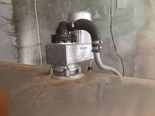 Reductor Baracuda tanque leche - Repuestos y recambios catalogo - Reducteur - motor baracuda catálogo engranaje hielo - Reductor Baracuda