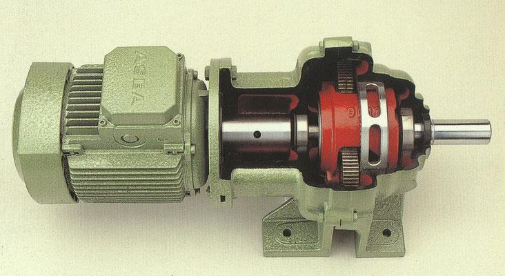 Catalogo despiece  engranaje motor y reductor Sevenier