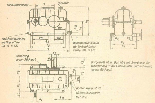TGL 21811 Reductor Gearbox
