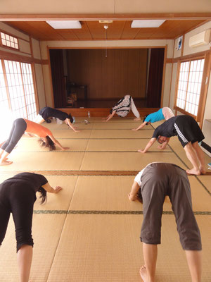 粟島神社 体操教室イメージ