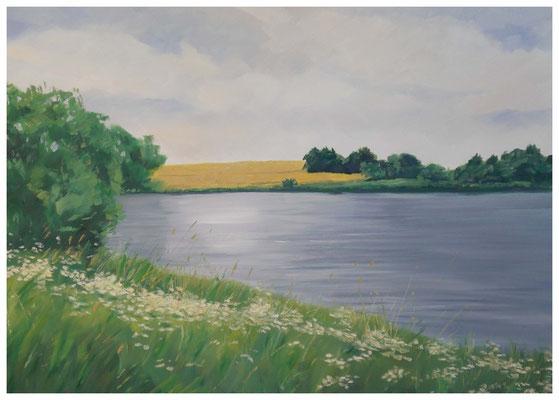 """""""Der Mündesee""""  50 x 70 cm"""