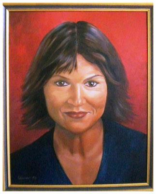 """Selbstportrait""  40 x 50 cm"