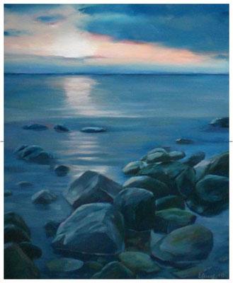 """Sonnenuntergang""  40 x 50 cm"