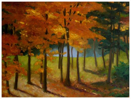 """Herbst""  30 x 40 cm"