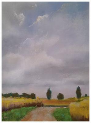 """""""Landschaft""""  32 x 42 cm"""