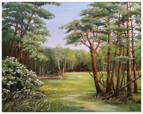 """""""Waldlichtung"""" 40 x 50"""