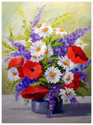 """""""Wiesenblumen""""  30 x 40 cm"""