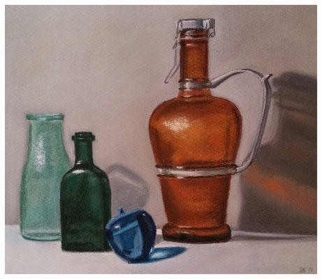 """""""Flaschen""""  36 x 42 cm"""