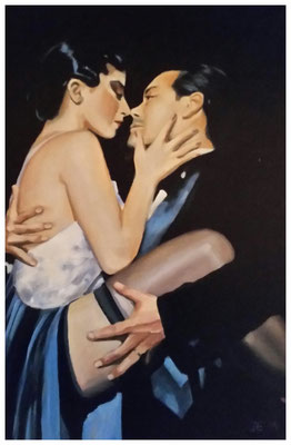 """Tango II""  40 x 60 cm"