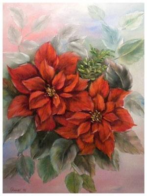 """""""Weihnachtsstern""""  40 x 30 cm"""